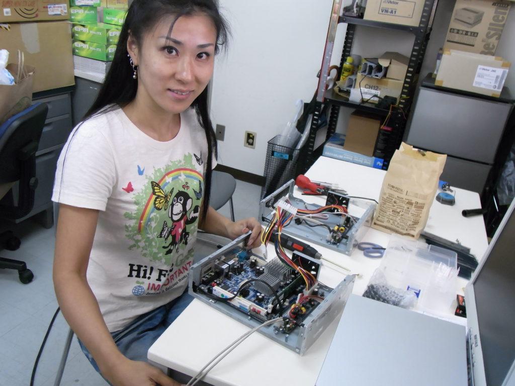 ピンクボックスコンピューター オープン系システム Linux組み込み
