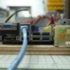 自作データセンター用の電源操作機。