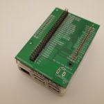 PBCラズパイGPIO並べるボード改訂。