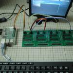RaspberryPi用シンプルI/O増設基板。